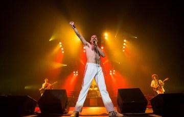 Porto, PORTUGAL: God Save The Queen, tribute to Queen, performing live at Coliseu dos Porto in Porto, Saturday, Nov. 24, 2012.