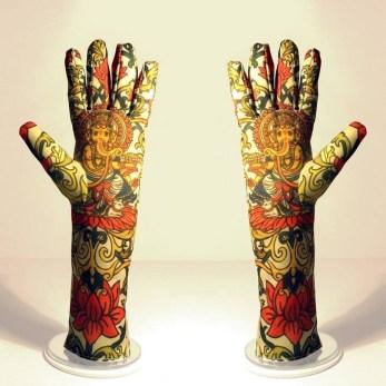 Lord Ganesha. Obra textil.