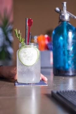 Gin tonic de la casa