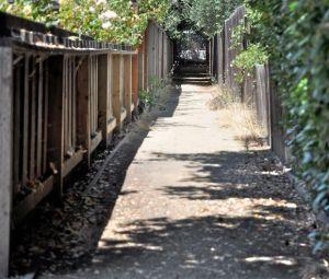 Passageway off Felton Dr.