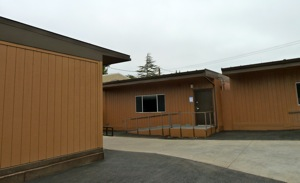 Hillview School portable classrooms