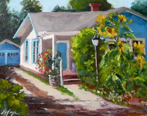 Barry's Sunflowers by Diana Jaye
