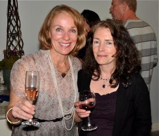 Debbie Umphreys and Maggie Foard