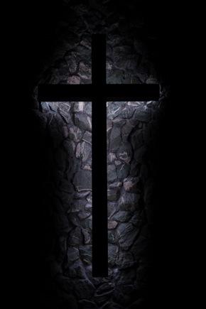 Indoor cross at Bethany Lutheran church in Menlo Park
