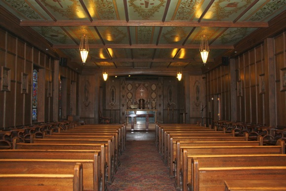 Chapel at Sacred Heart Prep