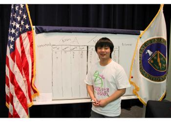 Alvin Jin, former Science Bowl winner