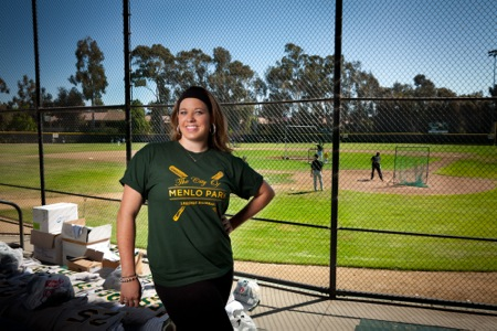 Ali Recht assistant general manager of the Menlo Park Legends