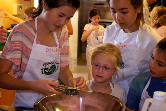 Chef Suzy cooking camp