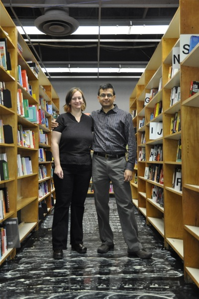 Christin Evans and Praveen Madan