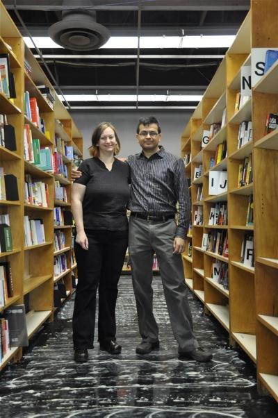 Christin Evans and Praveen Madan