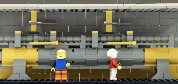 SLAC linac made of Legos