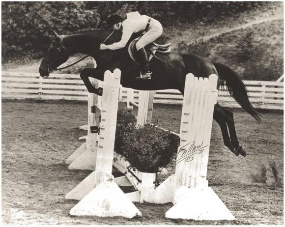 Katy Boyd jumping