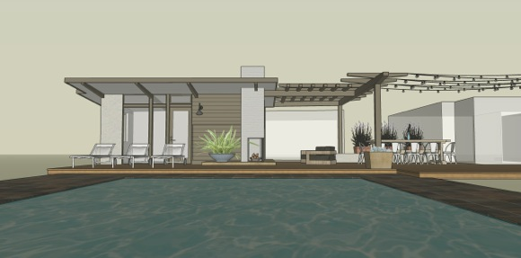 architect rendering of Bolmer home