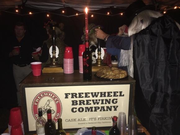 Freewheel Brewing at Members concert