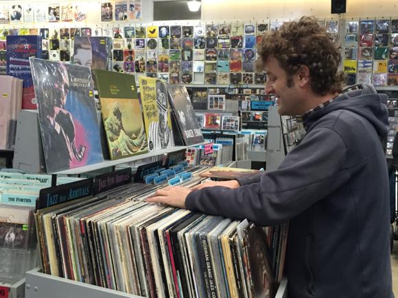 Amoeba record shopper