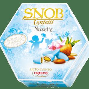 Confetti lieto evento snob celeste - Crispo