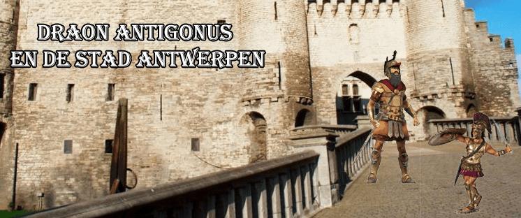 Draon Antigonus en de stad Antwerpen