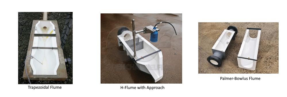 flumes palmer-bowlus h flume trapezoidal