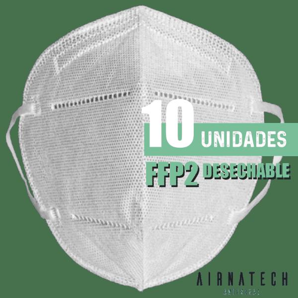 comprar mascarillas FFP2 reutilizables blanca