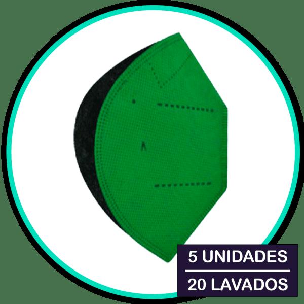 Mascarillas Airnatech Plus Verde - inmunealvirus