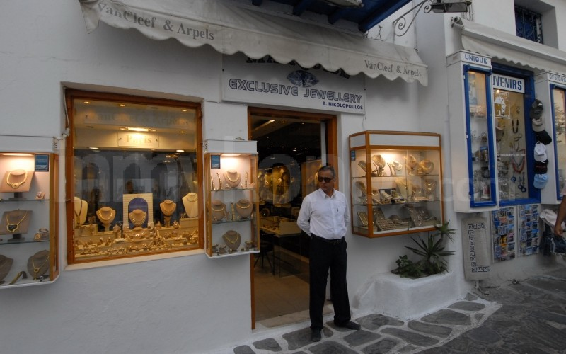 Marquise Jewellery Store Photos Shopping In Mykonos