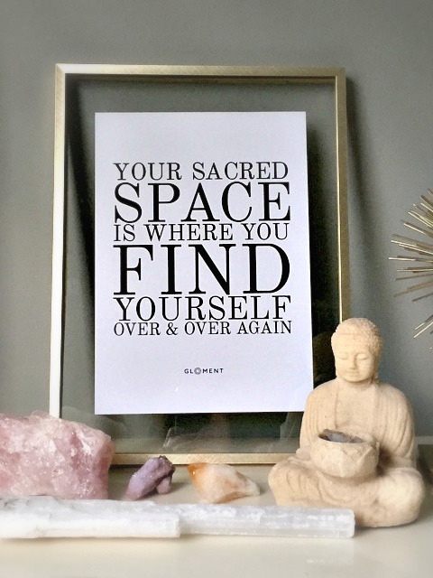 Sacred Space Quote