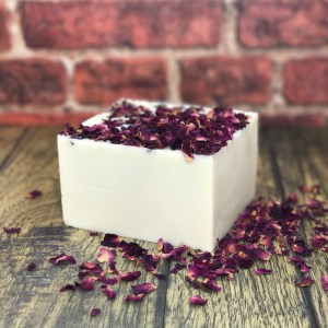 Rose geranium and shea butter soap