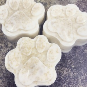 Dog soap for sensitive skin