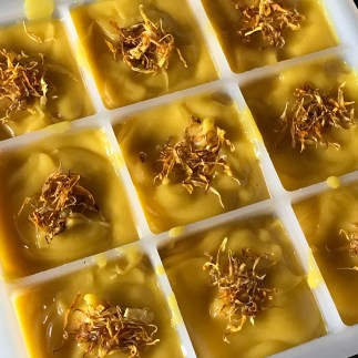 Using infusions in soap