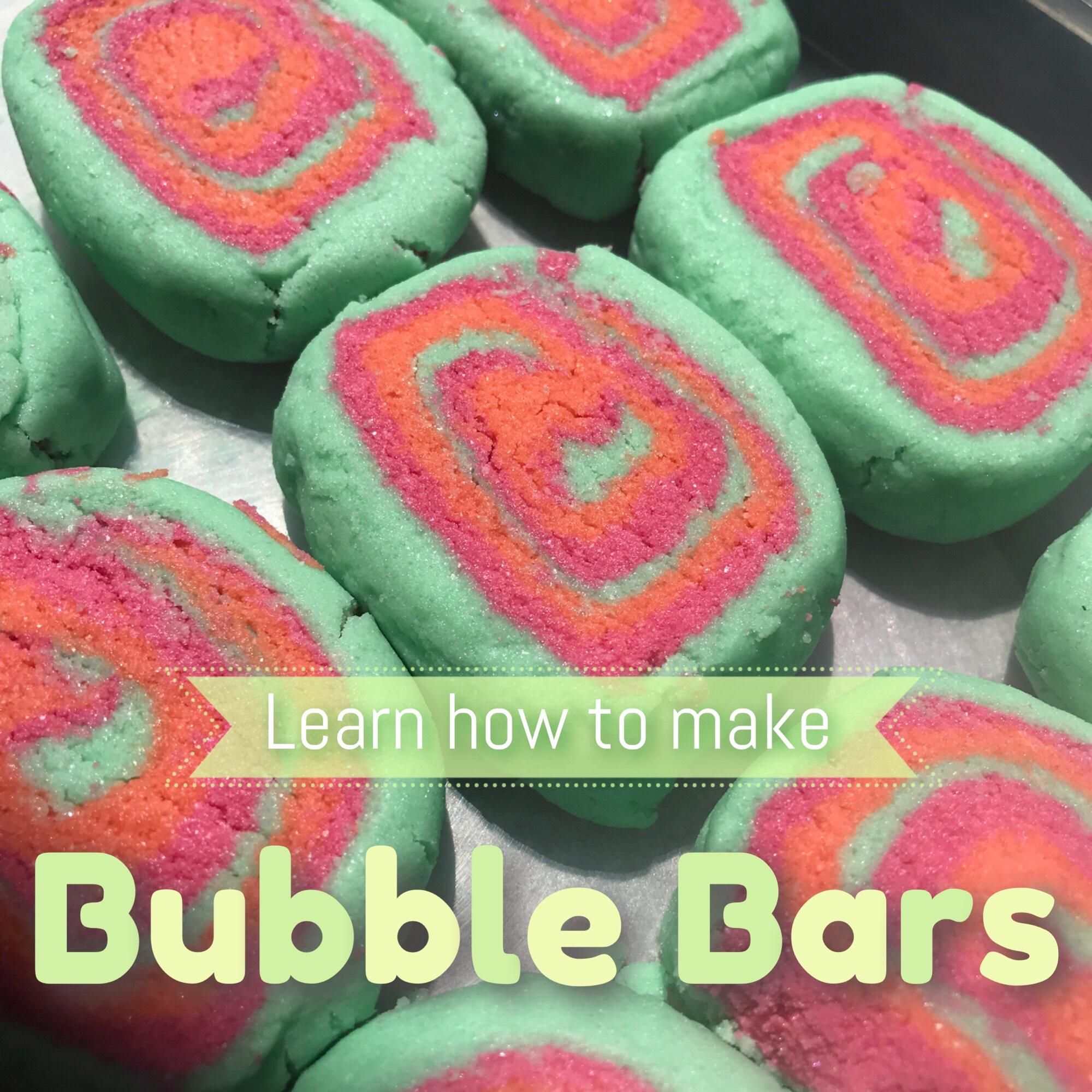 Bubble bars