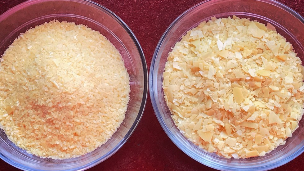 Candelilla and carnauba wax