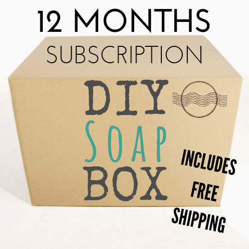 In My Soap Pot Diy Soap Box 12 Month Subscription