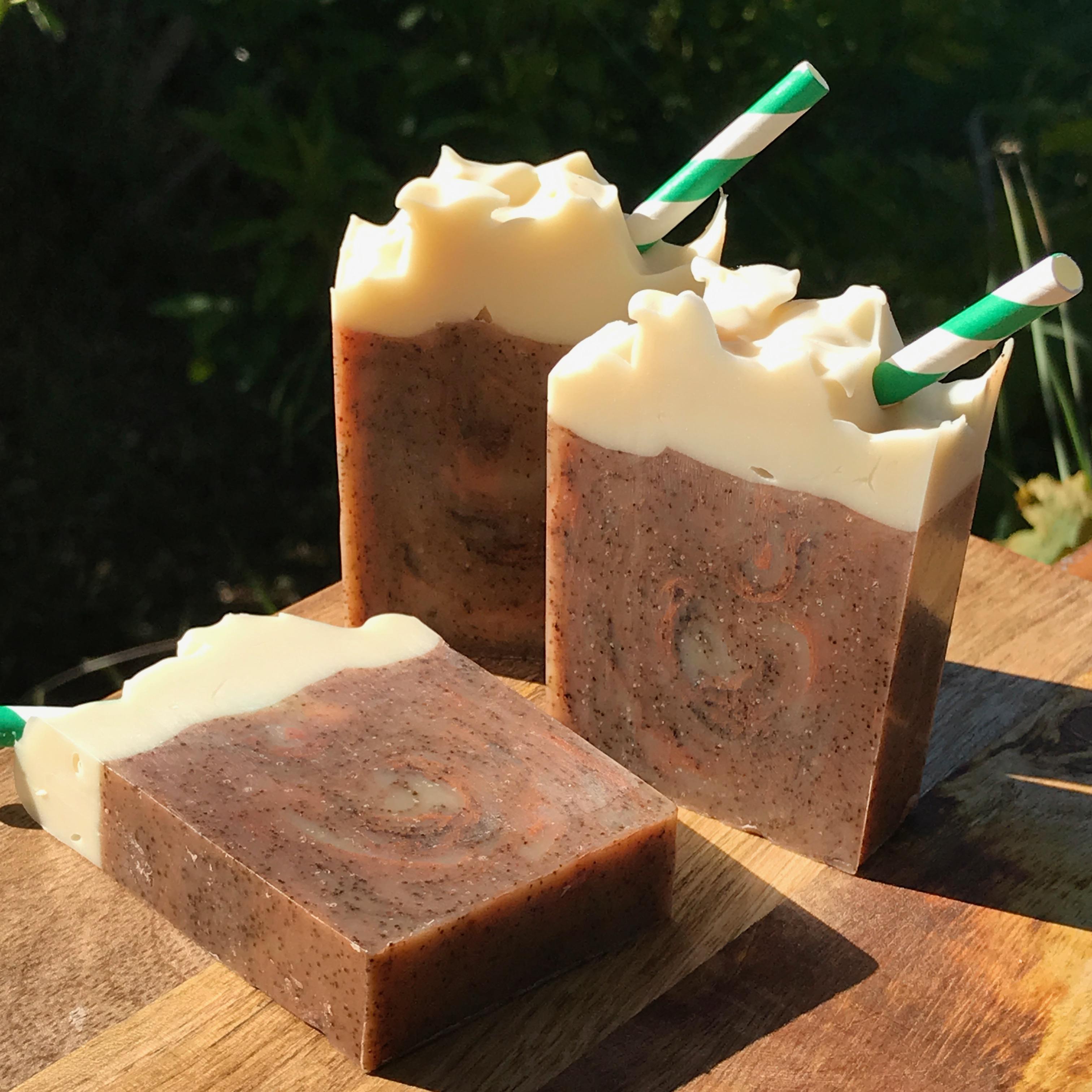 Frappucino soap
