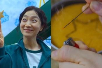 《魷魚遊戲》韓美女在糖餅遊戲中作弊,紅衣人並非沒發現!只是基於一些原因默許罷了!- 我們用電影寫日記