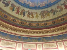 Domed ceiling of the 'echo room'