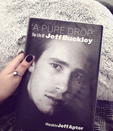 A biography book written by Jeff Apter, and this is my own physical copy of it