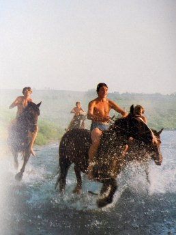 Galloping on water