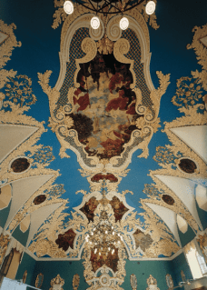 Kazansky railway station ceiling