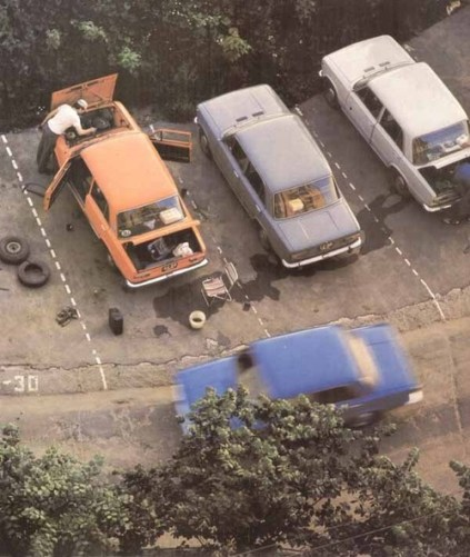 Vintage Moscow Cars