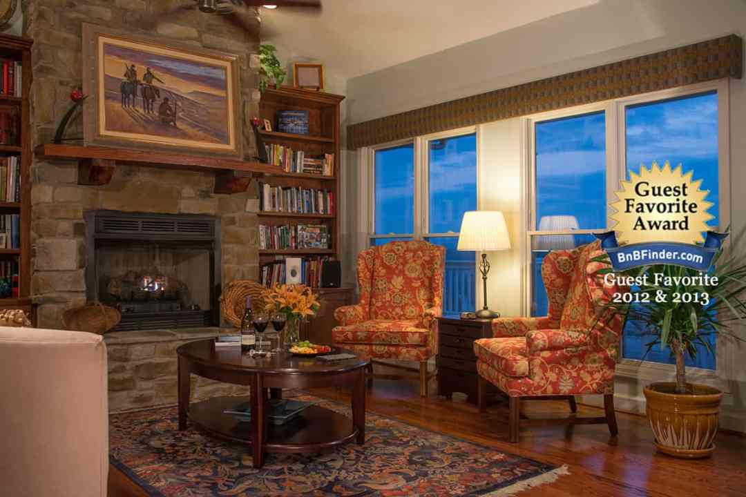Relax in the comfort of the Inn at Riverbend