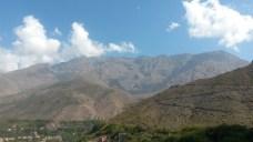 Widok z tarasu w Imlilu
