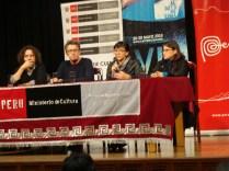 Konferencja prasowa na festiwalu filmowym