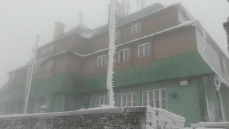 Masarykova Chata w chmurze