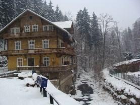 Nasz ulubiony budynek w Międzygórzu - wersja zimowa