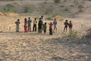desert kids pushkar for gallery