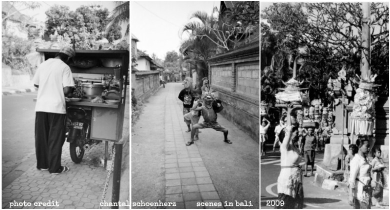 chanti bali bnw collage