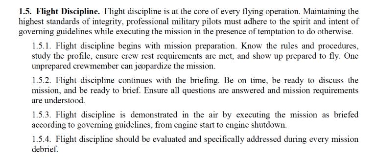 T6 discipline