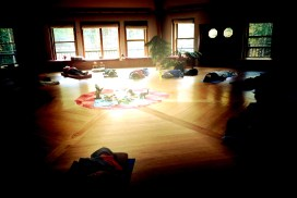 breathwork session at a previous council time retreat