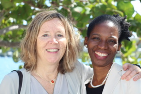 Samvedam Randles, LMHP and Christiana Awosan, PhD.
