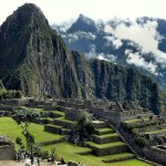 Andes mountain scene - a spiritual retreat to Peru in April, 2020